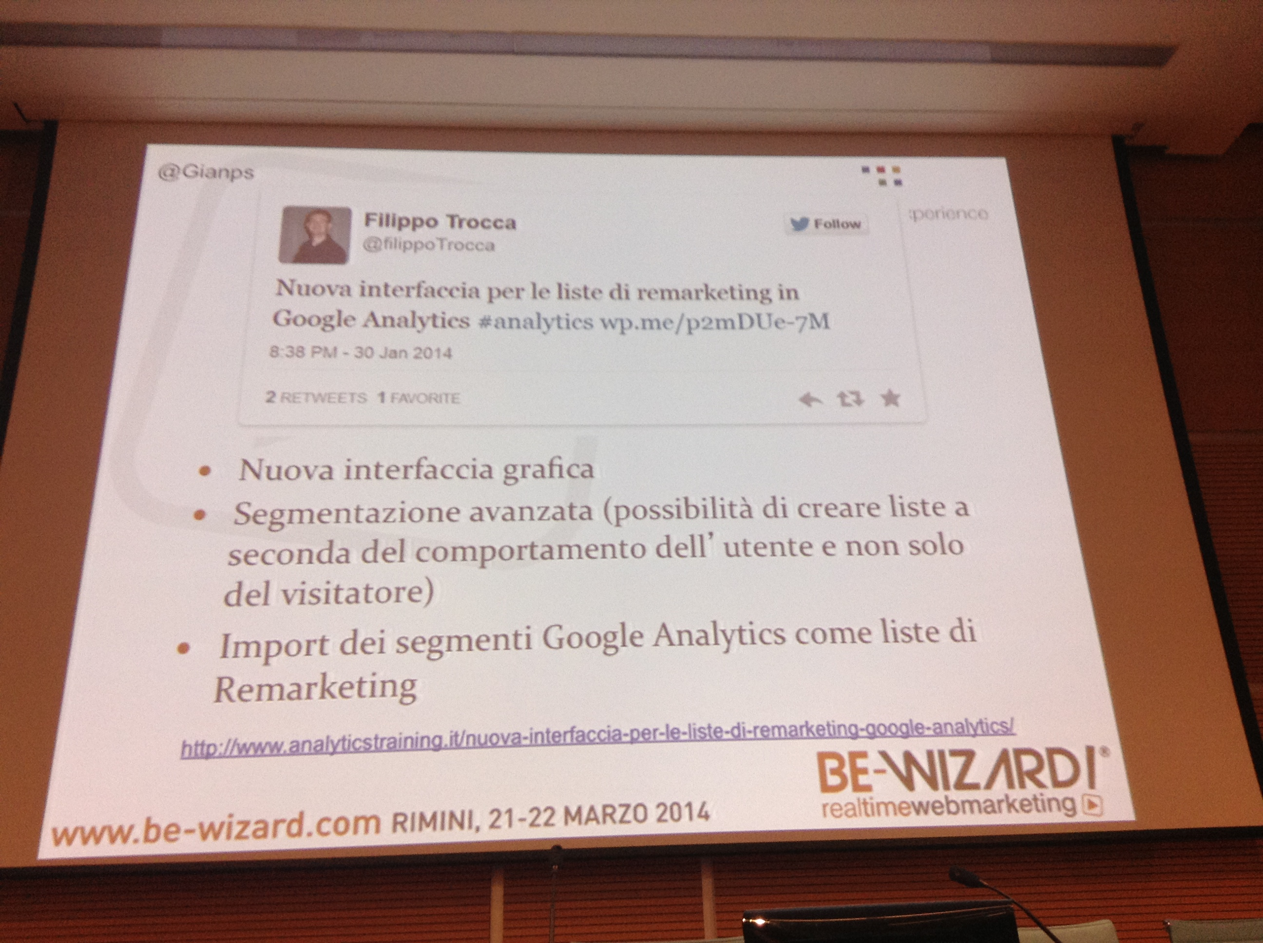 liste di remarketing