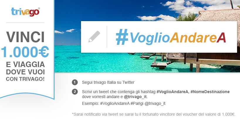 #VoglioandareA: ecco un buon esempio di uso di Twitter