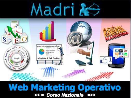 Corso Nazionale di Web Marketing Operativo: nuova edizione 2014
