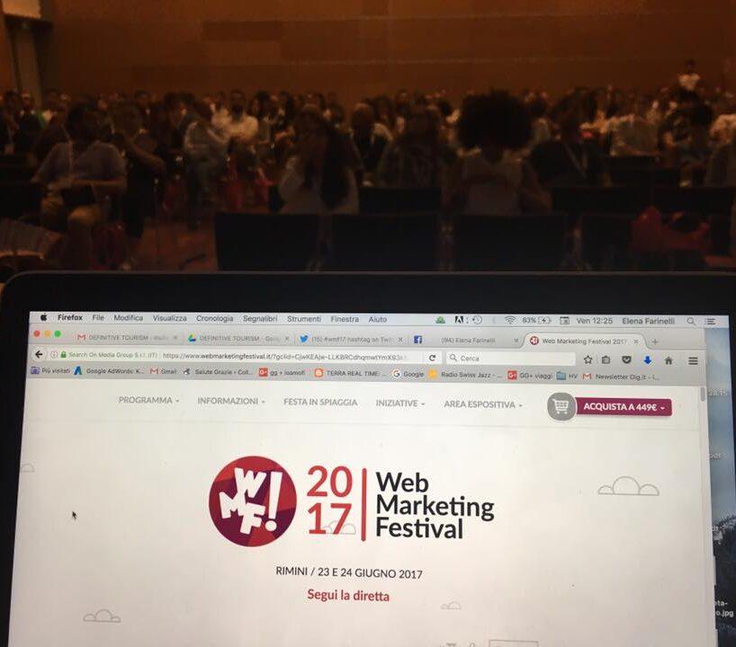 La sala turismo al #wmf17
